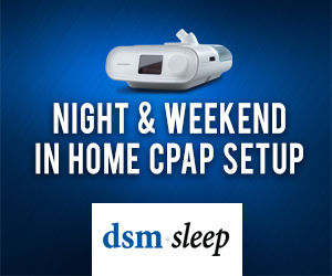 Night & Weekend in Home CPAP Setup